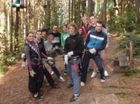 Ausflug in den Kletterwald Kriebstein | © Martin Kommenda