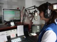 Im Studio von 99drei Radio Mittweida