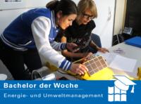 Bachelor der Woche: Energie- und Umweltmanagement