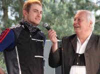 Pierre Jaques mit Gert Zimmermann
