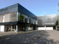Mensa und Bibliothek sind an der Hochschule Mittweida in einem Gebäude untergebracht.