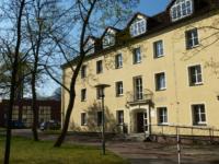 Ein Wohnheim auf dem Mittweidaer Campus